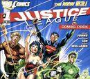 Liga da Justiça Vol 2/Capas