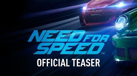 Need for Speed Teaser Trailer - PC, PS4, Xbox One