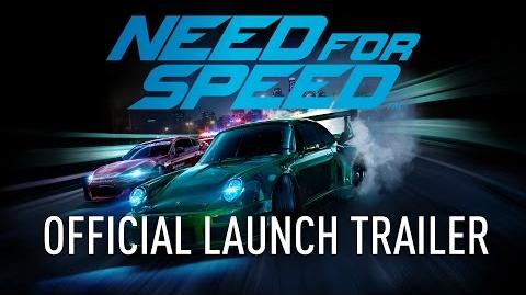 Need For Speed Official Launch Trailer