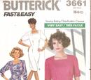 Butterick 3661 B