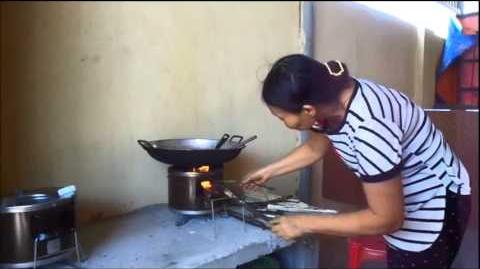 A Small Portable Clean Cookstove