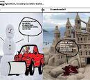 Comic 137:Splatfest:Snowmen VS Sandcastles