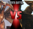 'Godzilla vs Gamera' themed Death Battles