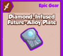 Diamond-Infused Future-Alloy Plate
