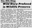 Wild Story Produced in Wildlife Preserve