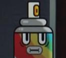 Garrafa de Tinta Spray