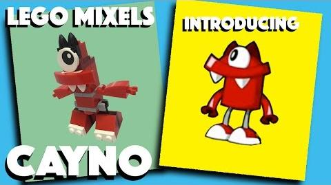 LEGO Mixel - Cayno - Stop Motion Build