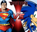 Sonic VS Superman