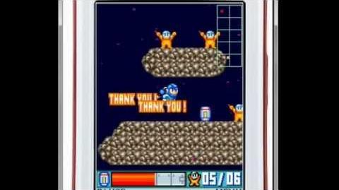 Mega Man Space Rescue