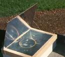 Kuchenka solarna skrzynkowa Minimum (plany)