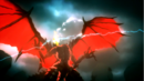 Bahamut lauching a fire breath attack.png