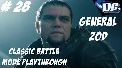 INJUSTICE GODS AMONG US PS3 I ALWAYS WIN!!! - ZOD CLASSIC BATTLE