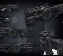 Fusil à rafale HP21I