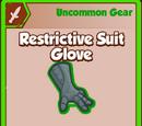 Restrictive Suit Glove