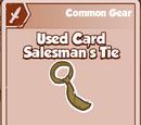 Used Car Salesman's Tie