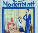 Beyers Modenblatt No. 24 Vol. 8 1930
