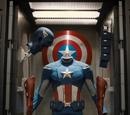 Uniforme del Capitán América