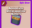 Bottomless Ultracapacitor Battery