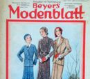 Beyers Modenblatt No. 24 Vol. 9 1931