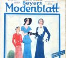 Beyers Modenblatt No. 6 Vol. 10 1931