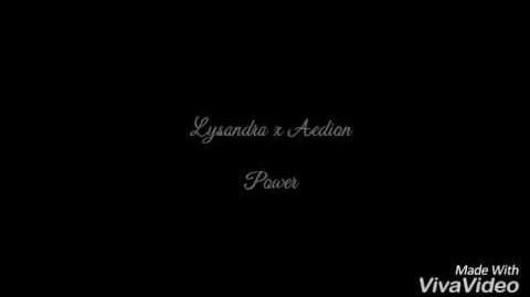 Lysandra x Aedion power
