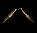 Invisible Assassin Sword-Gemini