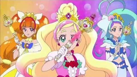 BANDAI Go! Princess PreCure Crystal Princess Rod