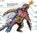 Magara M&E/Godzilla monster anatomy gallery