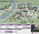 Mapa de la Universidad de Riverport