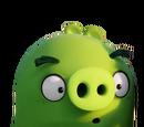 Cerdo con pecas