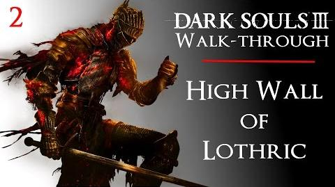 2 • Dark Souls III Walkthrough - High Wall of Lothric to Vordt Boss Fight - Cell Key