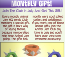 Monthly Member Gifts