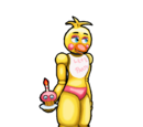 Toy Chica/Mega X's version