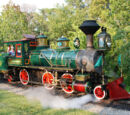 Walt Disney World Railroad No. 2