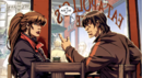 Christopher Colchiss (Earth-616) and Lisa Molinari (Earth-616) from Dark Reign Young Avengers Vol 1 1 001.png