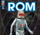 IDW COMICS: Rom The Space Knight Action Figures