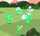 Criaturas de Luz Verde (Ataque al Prisma)