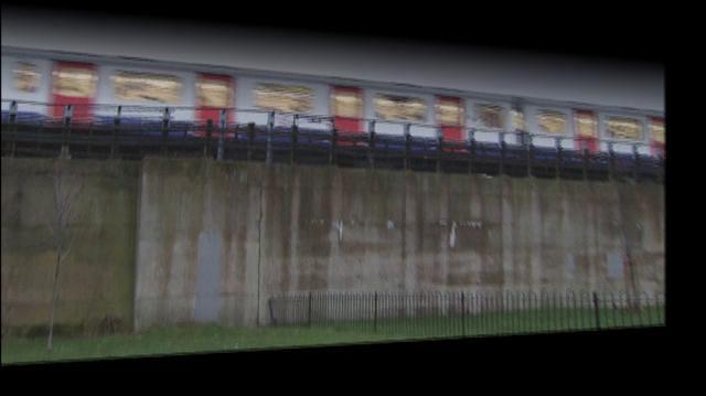 EastEnders Trains VFX breakdown