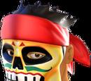 Black Charro Mask