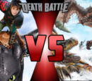 Hiccup and Toothless Vs Rathian and Rathalos