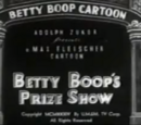 Betty Boop's Prize Show