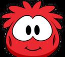 Disfraz de Puffle Rojo