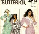 Butterick 4714 A