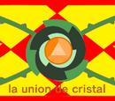 La unión de cristal