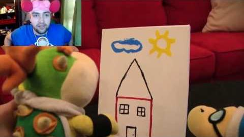Kushowa Reacts to SML Movie: Bowser Junior's Painting!