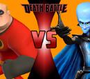 Mr. Incredible vs. Megamind