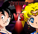Goku vs Sailor Moon