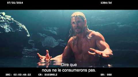 AVENGERS L'ÈRE D'ULTRON Scène Supprimée Thor & Erik dans la Caverne VF HD
