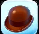Brown Bowler Hat Token