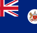 Flagge Südafrikas (Neunorwegen)